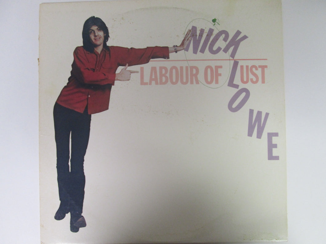 Nick Lowe Labour of Lust Record Album 1979