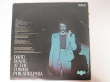 David Bowie David Live  At The Tower Philadelphia Double Record Album 1974