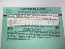 1991 Donruss Rated Rookie Baseball Card #422 Scott Aldred