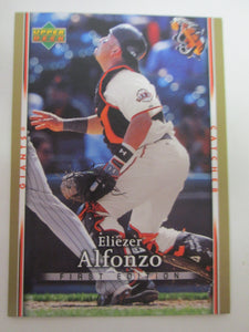 2007 Upper Deck First Edition San Francisco Giants Baseball Card #279 Eliezer Alfonzo