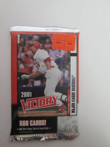 2001 Victory Baseball Pack Unopened