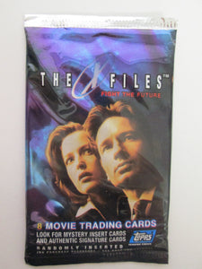 1998 The X-Files Fight The Future 8 Movie Trading Cards Unopened Pack