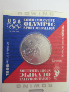 1996 Atlanta Commemorative Olympic Rowing Sport Medallion