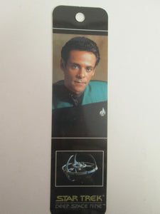 1993 Star Trek Deep Space Nine Doctor Julian Bashir Bookmark