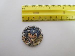Marvel's Wolverine Pinback Button Small