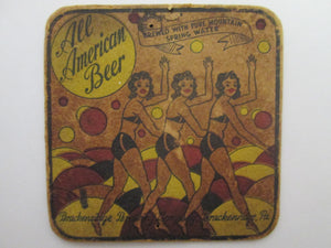 17 Mixed Beer Coasters