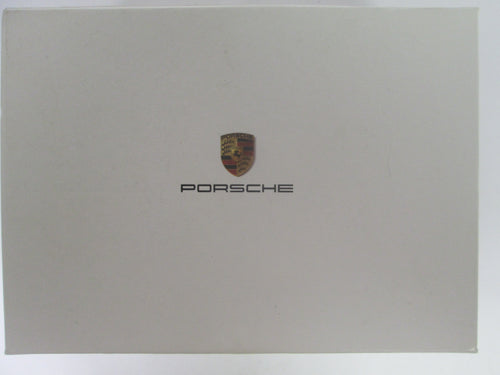 Porsche Advertising  Box Evolution 911 with square cards