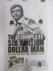 2004 Rittenhouse Archives The Six Million Dollar Man Seasons One & Two UNOPENED