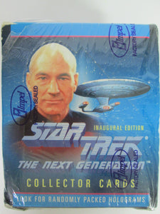 1992 Skybox Star Trek Next Generation Inaugural Edition Trading Cards UNOPENED Box