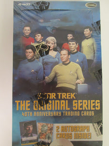 2006 Rittenhouse Archives Star Trek The Original Series 40th Anniversary Trading Cards UNOPENED Box