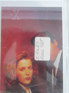 1996 Topps X-Files Complete Trading Card Set of 72