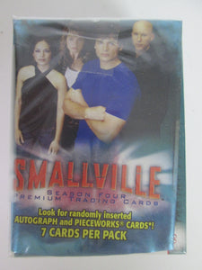 2006 Inkworks Smallville Season 4 Complete Trading Card Set of 90