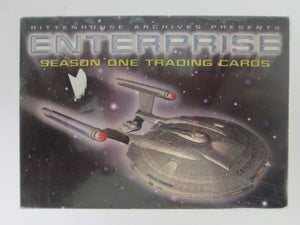 2002 Rittenhouse Archives Enterprise Season One Complete Trading Card Set of 81