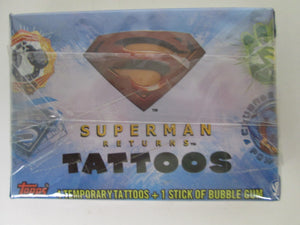 2006 Topps Superman Returns Tattoos Complete set of 50
