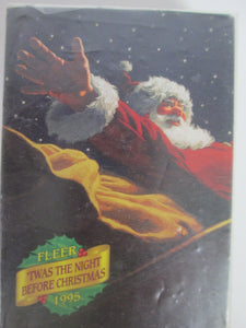 1995 Fleer 'Twas the Night Before Christmas Complete Trading Card set of 42