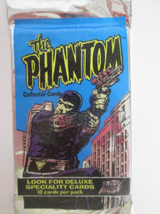 1995 Comic Images The Phanton UNOPENED Pack of 10 Trading Cards