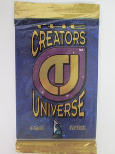 1993 Dynamic The Creators Universe UNOPENED Pack of 6 Trading Cards