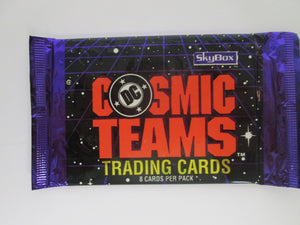 1993 Skybox DC Cosmic Teams UNOPENED Pack of 8 Trading Cards