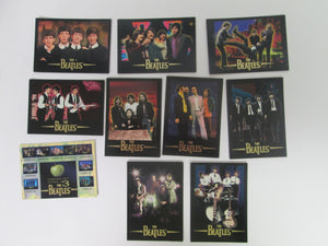 1994 River Group Beatles Collection OPENED Pack of 10 trading Cards