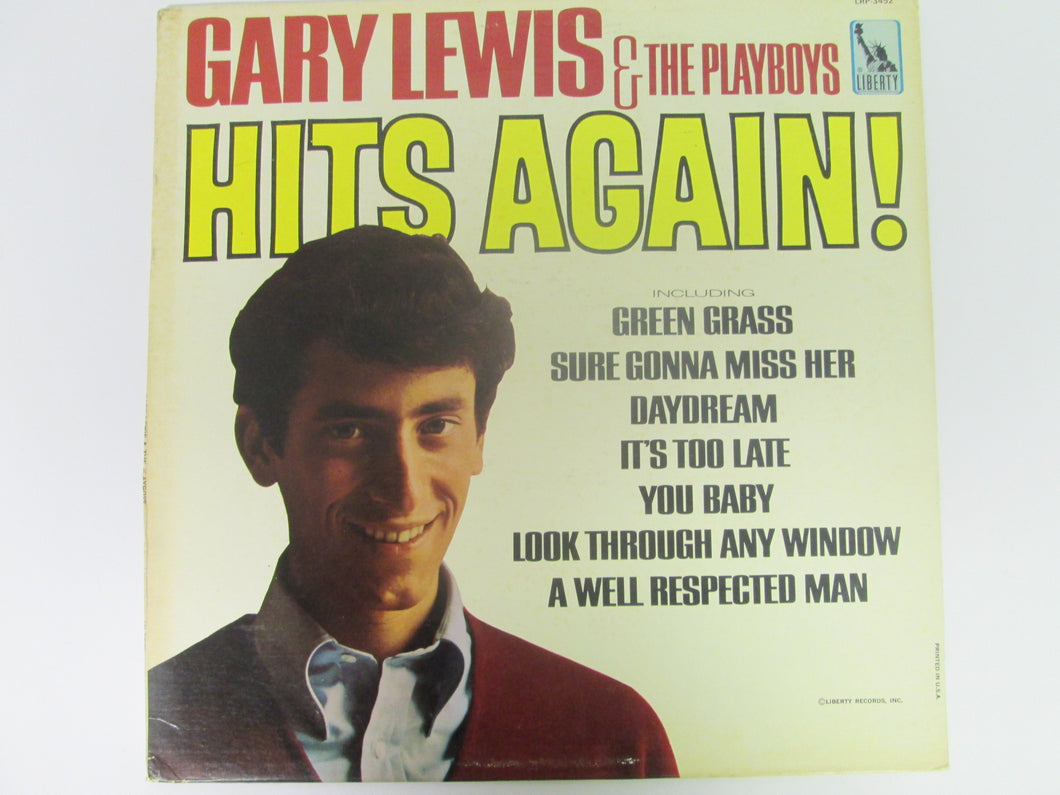 Gary Lewis & the Playboys Hits Again Record Album Liberty 1966