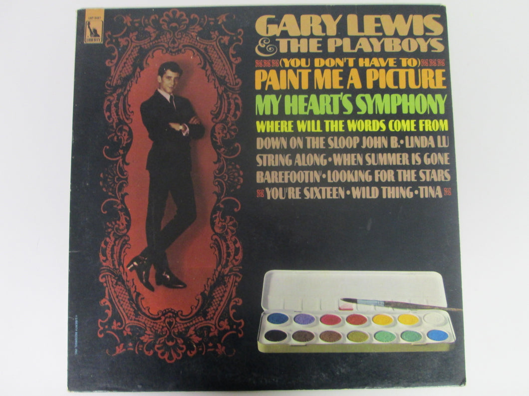 Gary Lewis & the Playboys Paint Me A Picture Record Album Liberty 1967