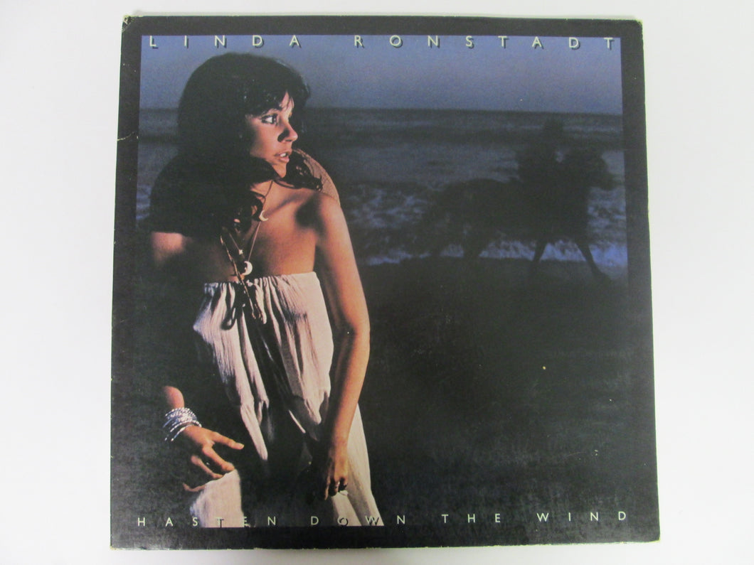 Linda Ronstadt Hasten Down the Wind Record Album Asylum 1976