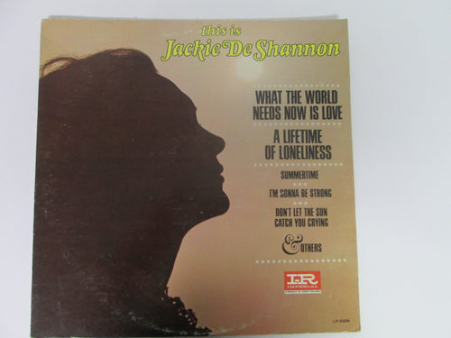 Jackie DeShannon This is Jackie De Shannon Record Album Imperial/Liberty 1965