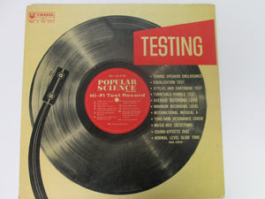 Popular Science Hi-Fi Test Record Urania 1957