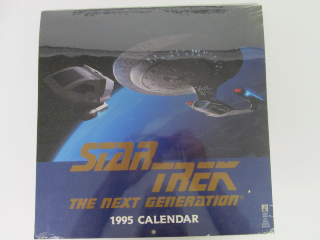 Star Trek The Next Generation 1995 Calendar Sealed Unopened