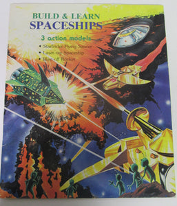Build and Learn Spaceships 3 Action Models 1980