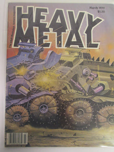 Heavy Metal Magazine March 1979