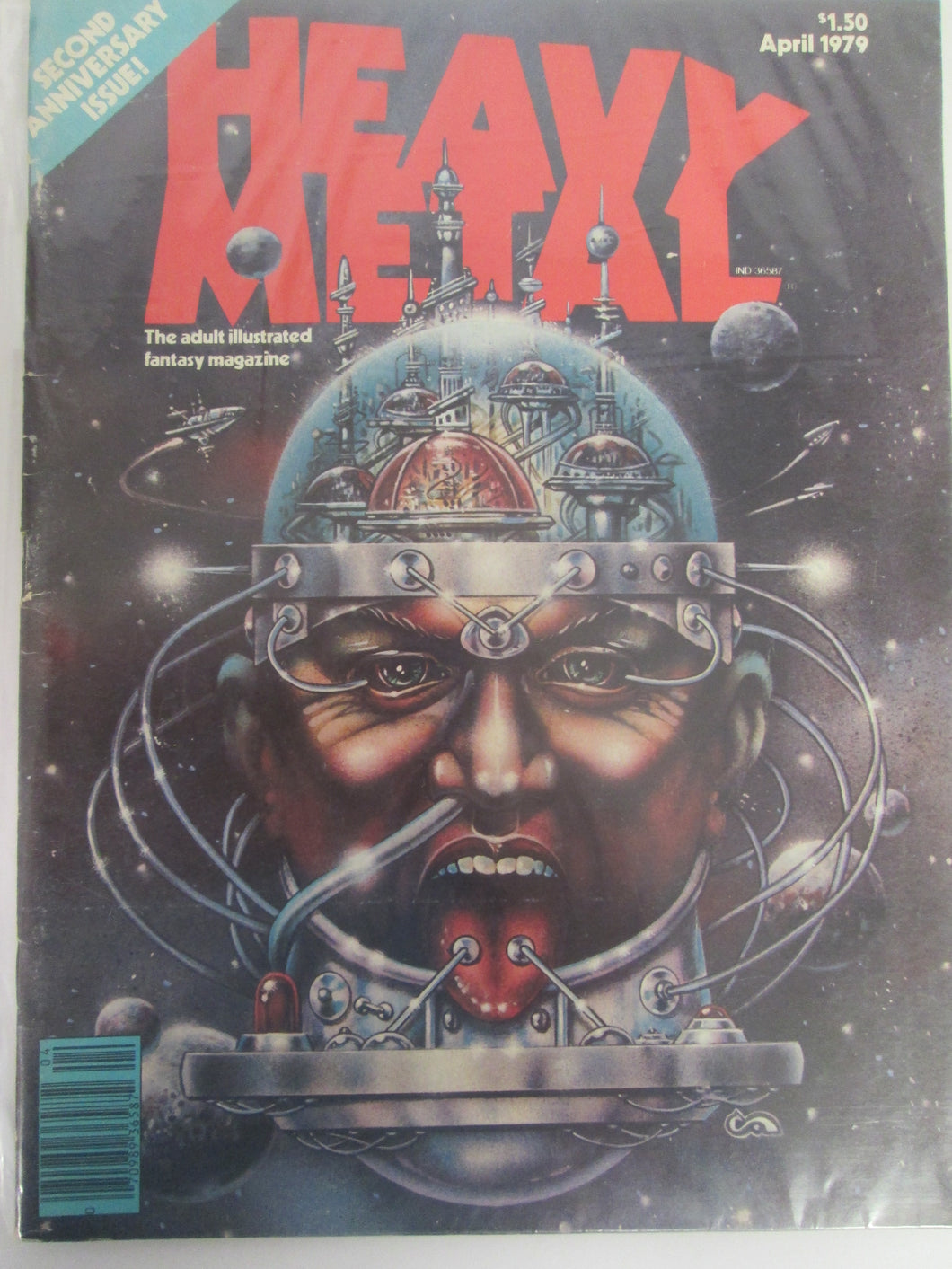 Heavy Metal Magazine April 1979