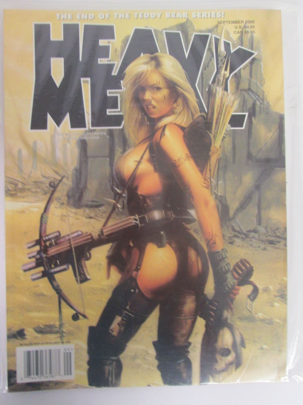 Heavy Metal Magazine September 2000