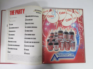 Coca-Cola The Party Beverage World HC 1986