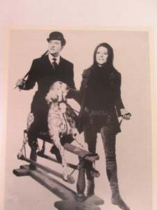 The Avengers Steed & Mrs. Peel 8x10 B&W Movie Still