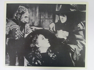 Wizard of Oz Dorothy and the Wicked Witch 8x10 B&W Movie Still