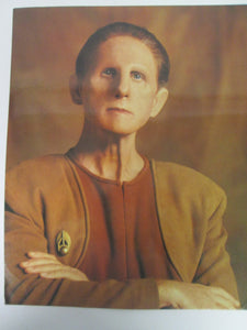 Odo Star Trek Deep Spane Nice 8x10 Color Postcard 1993