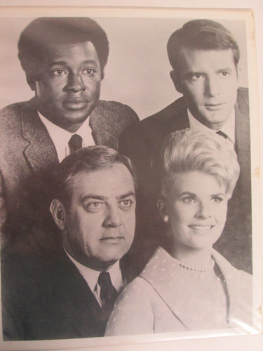 Perry Mason Cast Photo B&W