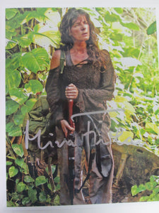 Mira Furlan Signed Color Photo Lost