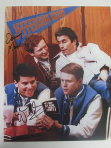 Happy Days Signed Color Cast @ Arnolds Photo by Donny Most &  Anson Williams (Ralph & Potsie)