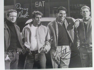 Happy Days Signed B&W Cast @ Early Photo by Danny Most &  Anson Williams (Ralph & Potsie)
