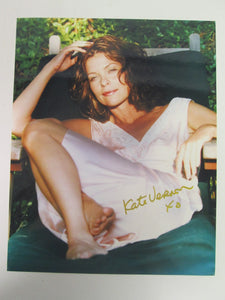 Kate Vernon Signed Color Photo - Battlestar Galactica
