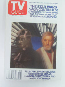 TV Guide Star Wars Hologram Cover May 11-17 2002