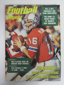 Football Digest October 1975