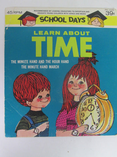 Learn About Time 45 RPM School Days Record PP1049