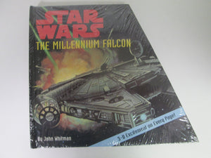 Star Wars The Millennium Falcon by John Whitman 3-D Excitement on Every Page HC Sealed 1997