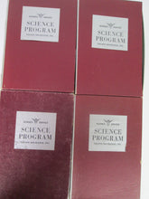 Science Service Science Program Set of 4 sets of Informational smaller Pamphlet/Books circa 1960s