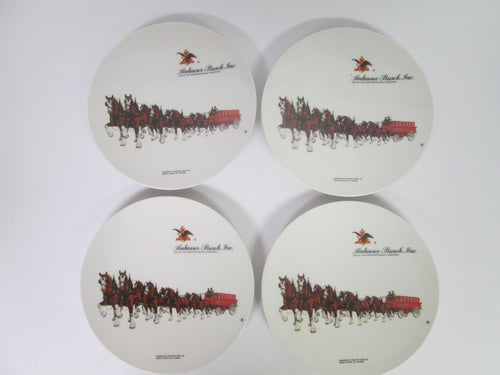 Anheuser-Busch Set of 4 8