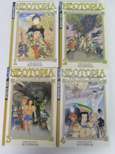 Neotopia by Rod Espinosa Color Manga Vols 1-4