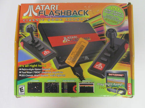 Atari Flashback Classic Game Console 20 Atari Games Built In 2004